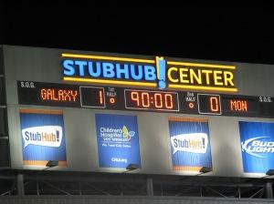 Galaxy 1 - Montreal 0