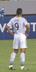 Samuel - the goal scorer for the Galaxy